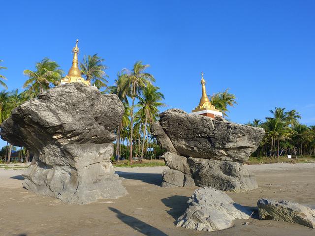 Mùa hè với bãi biển xinh đẹp ở Myanmar