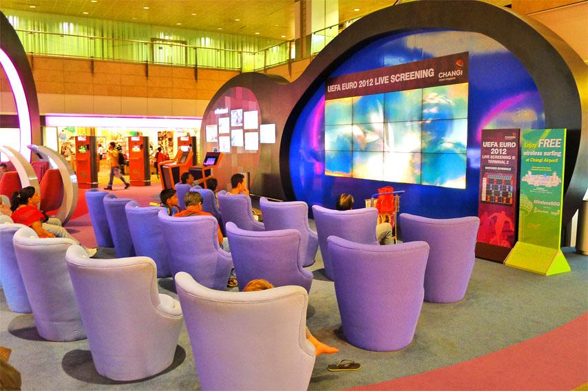 Trải nghiệm sân bay quốc tế Changi
