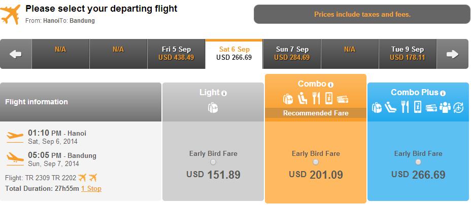 Vé máy bay đi Bangdung