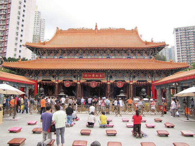 Ngôi chùa Wong Tai Sin linh thiêng