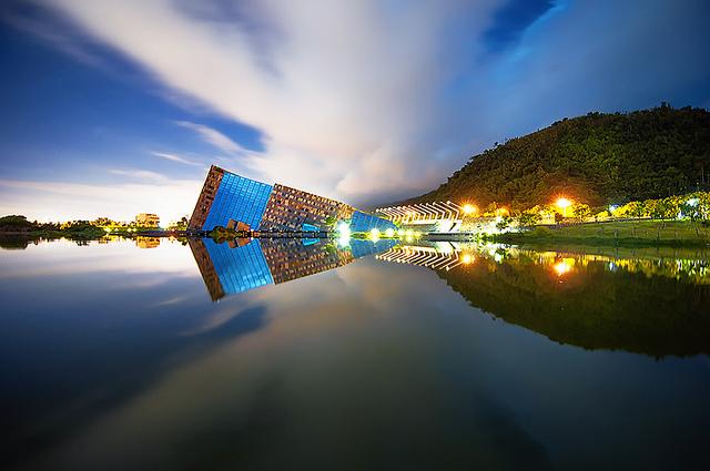 Kiến trúc độc đáo bảo tàng Lanyang