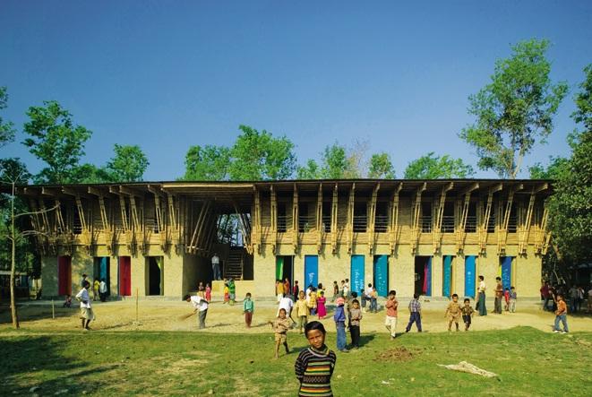 Ngôi trường  METI độc đáo ở Bangladesh