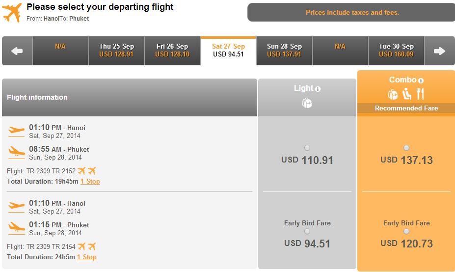Mua vé máy bay đi Phuket giá rẻ ở đâu?