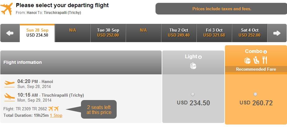 hn-tirucVé máy bay giá rẻ đi Tiruchirapallihirapalli-ấn-1