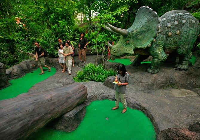 Dino Golf Park - món quà cho gia đình