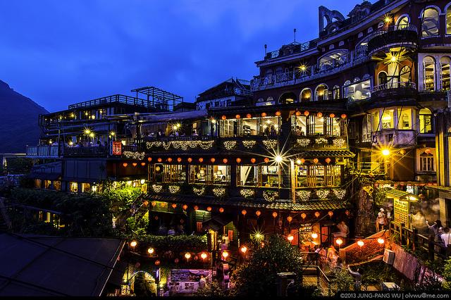 Jiufen - thị trấn du lịch xinh đẹp ở Đài Loan