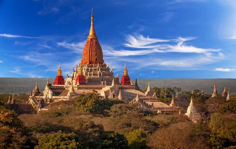 Ananda - ngôi chùa đẹp nhất cố đô Bagan