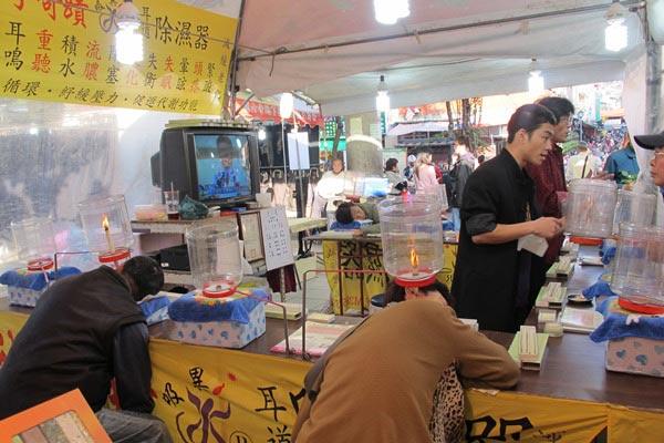 Dịch vụ massage thú vị tại chợ đêm Đài Loan