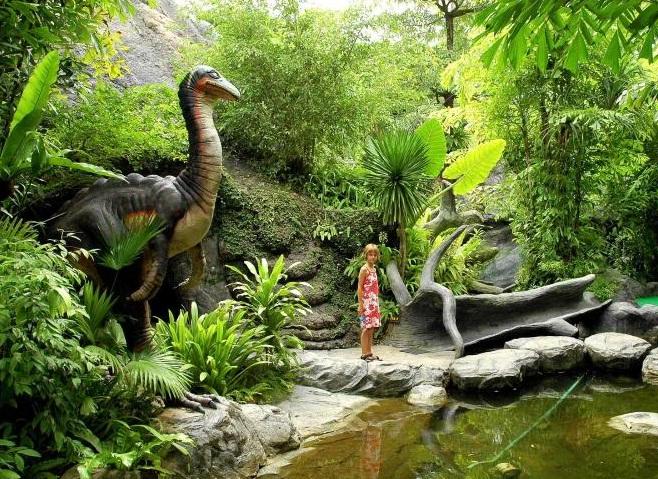 Dino Park Mini Golf - món quà cho gia đình