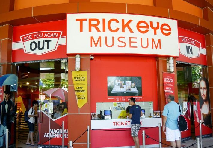 Thỏa trí sáng tạo tại Trick Eye Museum Singapore