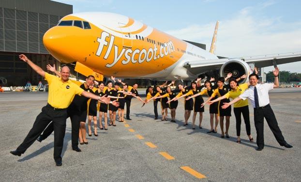 Tiger và Scoot - các chặng bay phủ khắp châu Á