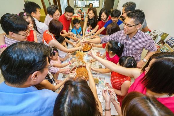 Nộm Yeesang – một nét văn hóa tết Malaysia