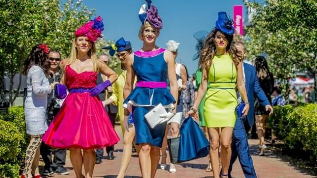 Lễ hội đua ngựa mùa xuân gay cấn ở Melbourne