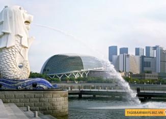 Merlion - biểu tượng Singapore