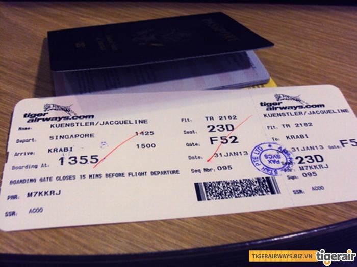 Vé máy bay Tiger Air không được phép hoàn hủy trên bất kỳ hạng vé nào