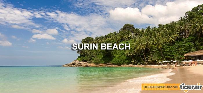 Biển Surin quyến rũ với màu nước xanh ngọc bích
