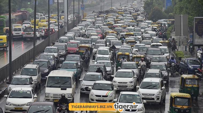 Giao thông Ấn Độ thường hỗn loạn