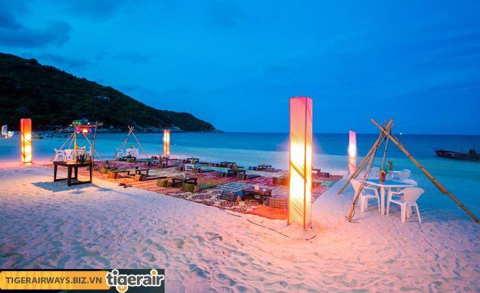 Nghỉ dưỡng ở bãi biển Haadrin - Koh Phangan