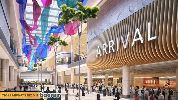 Du khách có thể mua hàng miễn thuế ở sân bay Changi