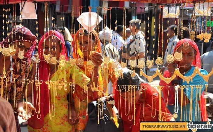 5 phiên chợ nổi tiếng của người Ấn Độ